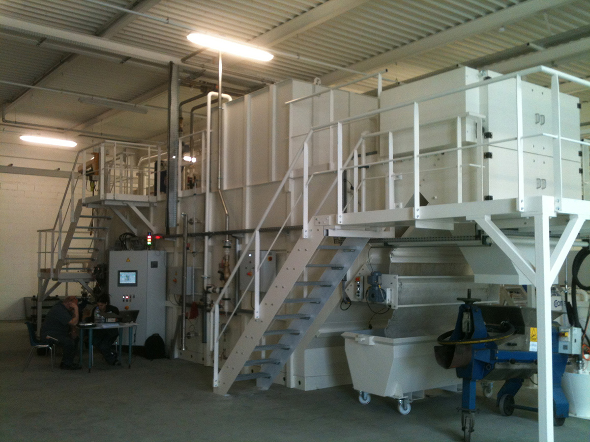 Filtration with SFH