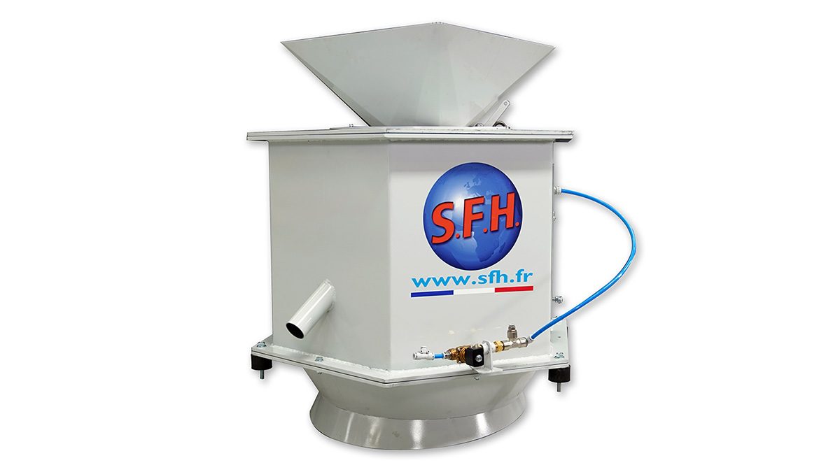 Chip spinner SFH 1000 for coolant fluids
